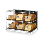 Acrylic Bakery Display - 6 Drawer