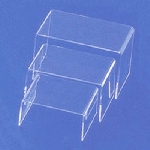 Rectangular Acrylic Risers - 3pc