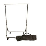Chrome Easy Fold Garment Rack- w/Bag