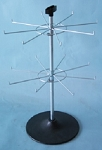 Counter Top 2 Hub Spinner Rack