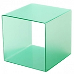 Frosted Cube Riser - 12in