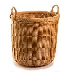 Large Round Wicker Storage Basket
