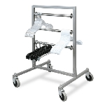 Mobile Hanger 3 Tier Transfer Rack