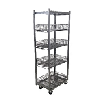 Mobile Wire Basket Merchandiser