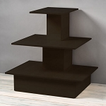 Black Wooden Space Saving Wall Table