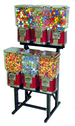 Pro 6 Candy Vending Machine Pro Gumball Machine Gumballs