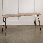 Weathered Wood Rectangular Table