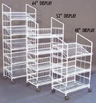 Black Modular Wire Display Rack - 40 Inch