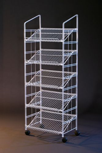 Black Modular Display Wire Rack Modular Retail Rack