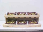 Countertop Candy Product Display - Natural / Unfinished