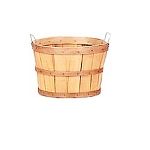 Half Bushel Natural Baskets - 12ct