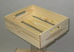 Wooden Crates - Quantity of 12 - Color Choice