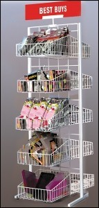 10 Basket Merchandiser