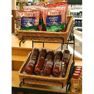 Counter Basket Display Double Stack