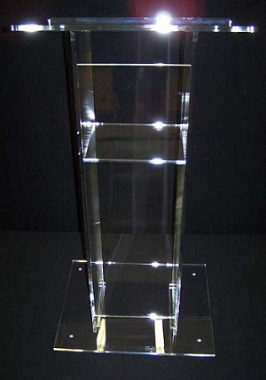 "24"" Traditional Acrylic Podium - Color Choice"