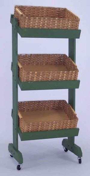 3 Tier Basket Display - Color Choice