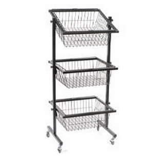 3 Tier Square Display - Black