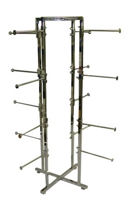 4-Way Round Folding Lingerie Rack