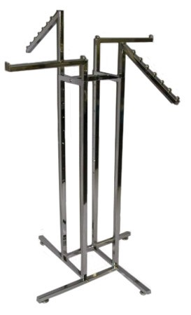 4-Way Square Tube Rack