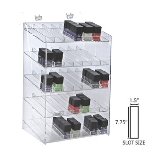 5-tiered 35 Compartment Cosmetic Display