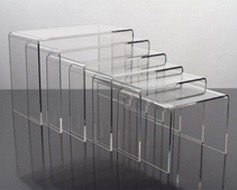 Acrylic Display Risers - 6pc