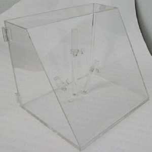 Acrylic Locking Eyewear Display Case