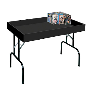 Black Folding Impulse Table - 5ft