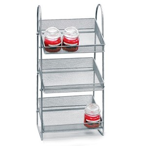 Three Tier Mesh Basket  Counter Display