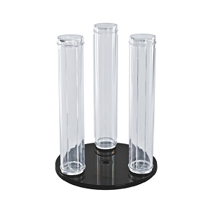 "Vertical Counter Display - Three 12"" Poles"