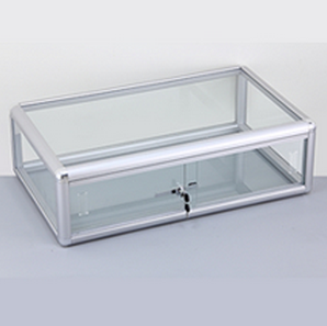 Aluminum Framed Counter Showcase