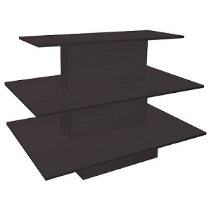 Black 3 Tiered Display Table