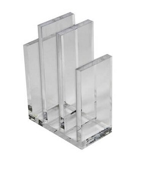 Clear Acrylic File Sorter - 2ct