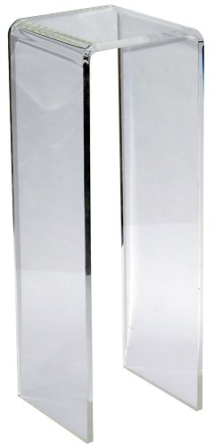 Clear Waterfall Acrylic Pedestal - Size Option