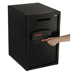 Electronic Safe with Digital Lock and Credit Card Reader