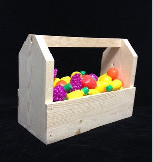 Knotty Pine Candy Box