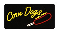 Corn Dogs Lighted Sign