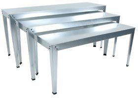 Galvanized Nesting Tables
