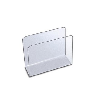 Medium Acrylic Desktop File Holder - 4ct