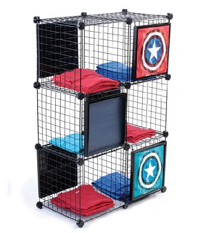 Mesh Cube T Shirt Display