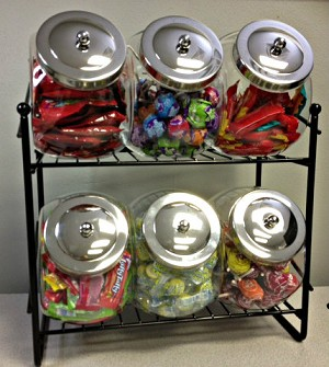 Penny Candy 6 Jar Rack - 2 Pack