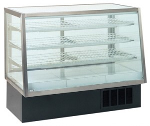 "Refrigerated Deli Case - 48"" to 77"" Wide - Straight Front"