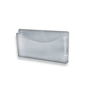 Single Wall Pocket File W/Pen Holder - 2ct