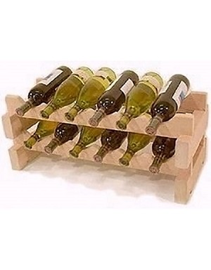 Stackable Wine Rack - 12 Bottle