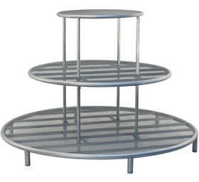 Tiered Circle Table Display