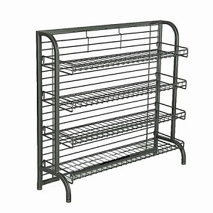 Under Counter Display Rack 9 Shelves